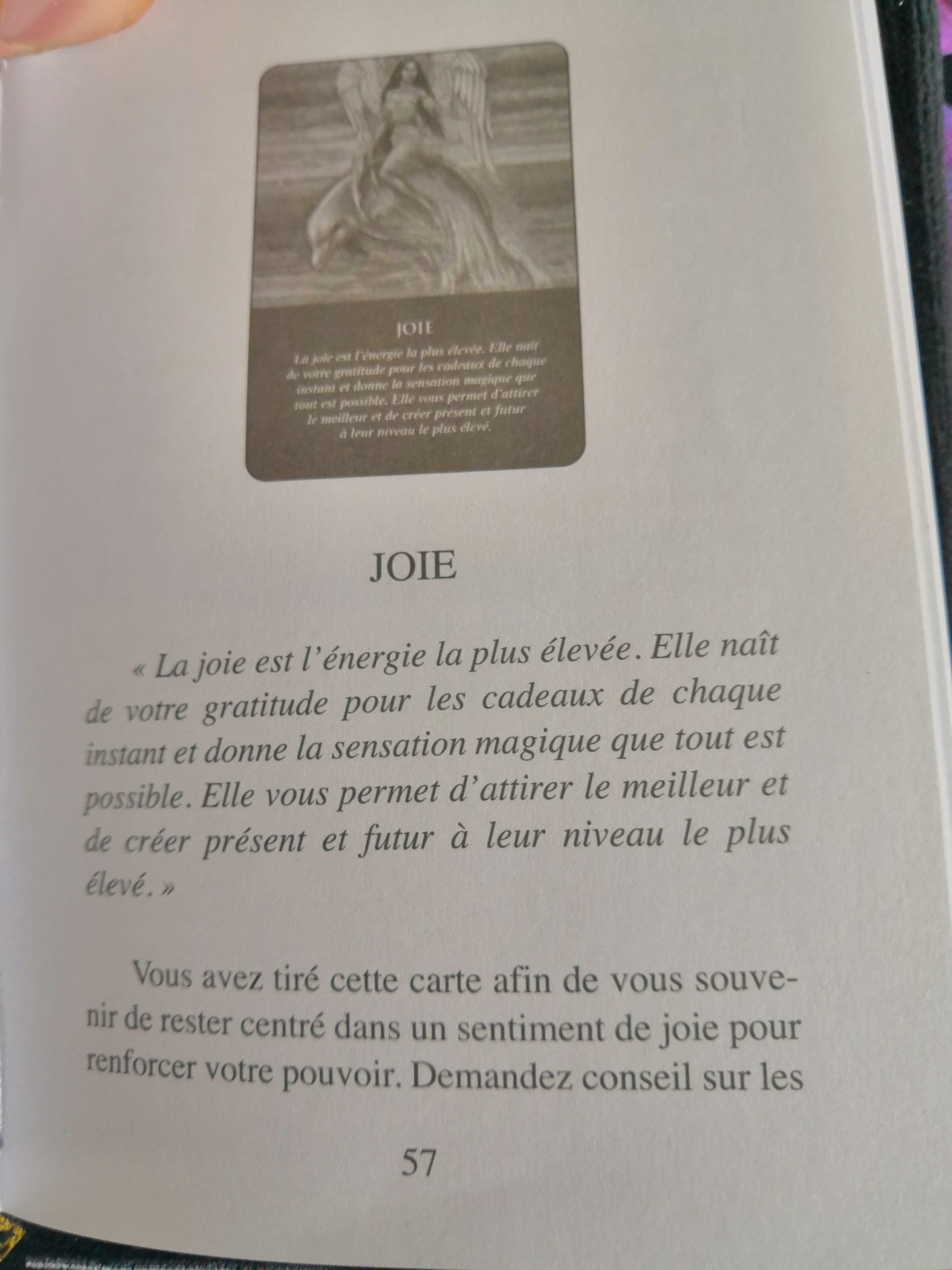 Carte 2 : Joie